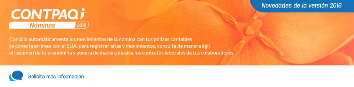 Anticípate con CONTPAQi® Nóminas: Complemento de nómina 1.2 ...