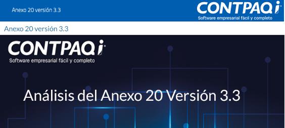 Manejo de Anticipos en el Anexo 20 versión3.3
