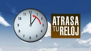 Domingo 28 de octubre finaliza horario deverano.